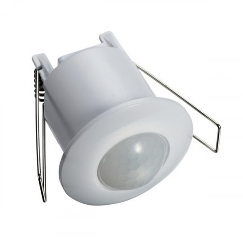 Ανιχνευτής κίνησης χωνευτός λευκός IP44 800W 230V 360° 12002/WA