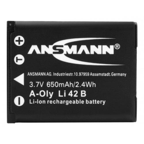 Μπαταρία 3.7V 2.4Wh 650mAh Li-Ion για φωτογραφικές Casio, Fujifilm, Kodak, Nikon, Olympus, Pentax LI-42B 5022933/05 Ansmann