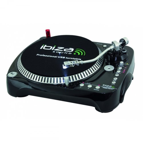 Pickup Επαγγελματικό για DJ με Εγγραφή Μέσω USB/SD Freevinyl Ibiza Sound