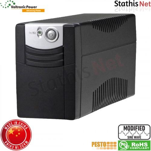 UPS line interactive 650VA τροποποιημένου ημιτόνου LA-VST-650 ΒΚ Voltronic