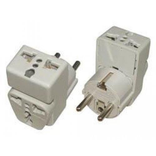 Πολυαντάπτορας WAii-9 1 σούκο -> 2 XEU 2-pin outlet