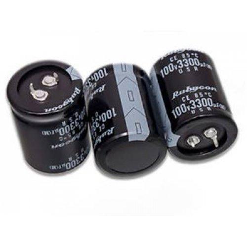 Πυκνωτής ηλεκτρολυτικός Snap 100V 3300μF 105*C 30x50mm LELON