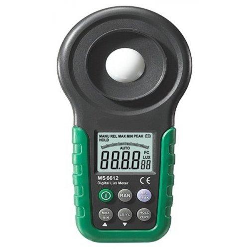 Μετρητής φωτεινότητας (Luxόμετρο) MS-6612 MASTECH