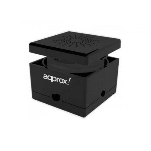 Ηχείο H/Y 3.5mm feel cube μαύρο APPSP11BK Aqprox