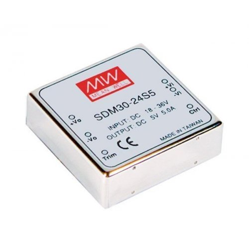 Converter SMD30-12S3 9-18V DC -> 3.3V DC 5A 30W switch Mean Well