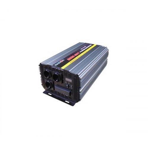 Inverter 24V->230V 5000W Τροποποιημένο Ημίτονο PI-5000 Marxon