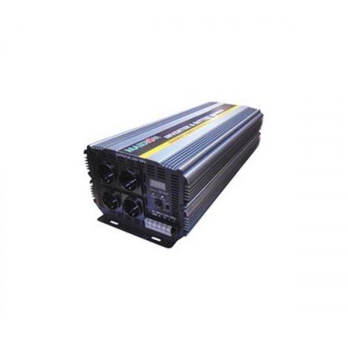 Inverter 24V->230V 5000W Τροποποιημένο Ημίτονο PIC-5000 Marxon