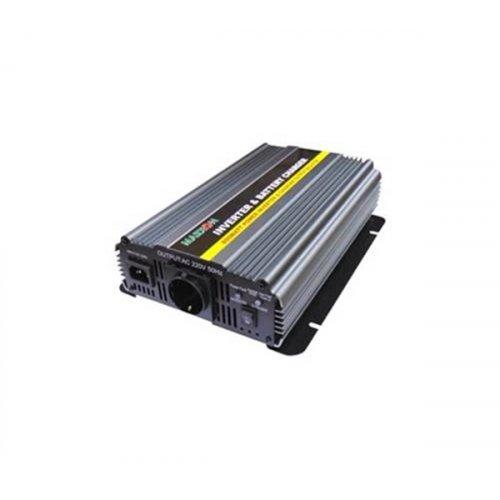 Inverter 12V->230V 800W Τροποποιημένο Ημίτονο  PIC-800W Marxon