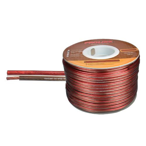 Καλώδιο διάφανο ηχείων 2x2.5mm LP-7253 Prolink