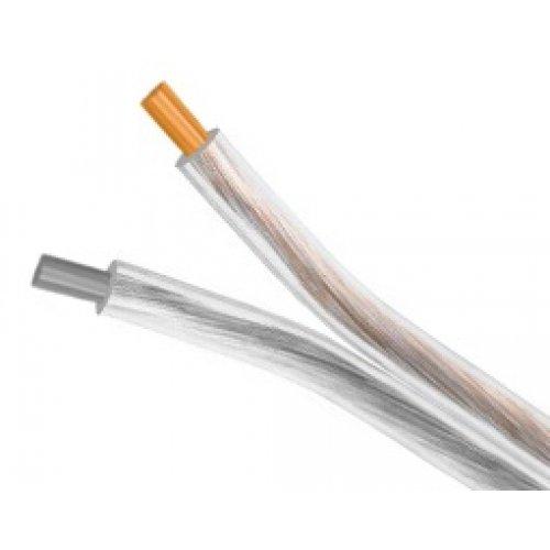 Καλώδιο διάφανο ηχείων 2x4.00mm 0.12mm OFC OD10