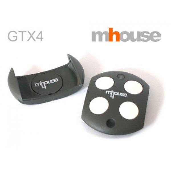 Τηλεχειριστήριο 4 εντολών γκαραζόπορτας GTX4 Mhouse