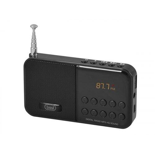 Ραδιόφωνο FM Μαύρο DR 740 SD Trevi