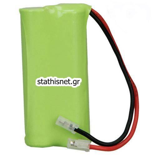Μπαταρία pack 2 pcs x AAA 2.4V 700mAh Ni-Mh με universal plug Code S Fujitron
