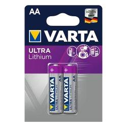 Μπαταρία Λιθίου LR03 AAA BL2pcs 6103 Ultralithium VARTA
