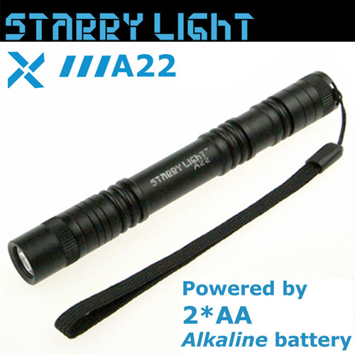 Φακός 2 χ ΑΑ 80 lumen αδιάβροχος IPX-7 A22 Starrylight