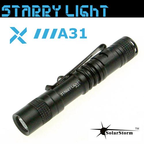 Φακός 1 χ AAA 1.2V 80 lumen αδιάβροχος IPX-7 A31 Starrylight