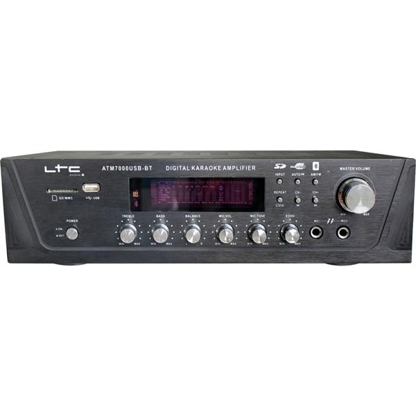 Ραδιοενισχυτής 2x50W USB/Bluetooth ATM-7000USB LTC Audio