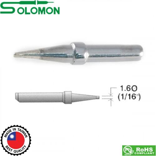 Μύτη κολλητηρίου 824 (μακρυά) 1.6mm για το κολλητήρι SL-20I/SL-30I Solomon