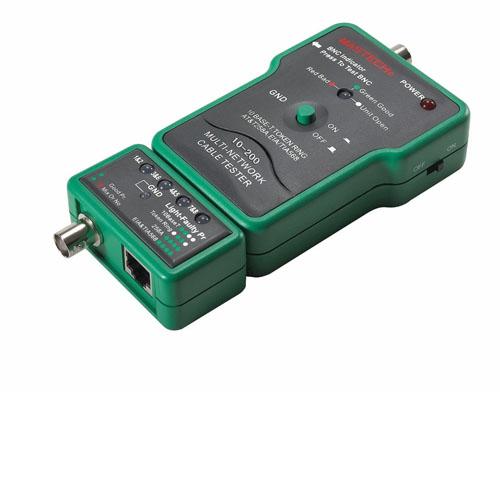 Tester δομημένης καλωδίωσης και BNC MS6810 MASTECH