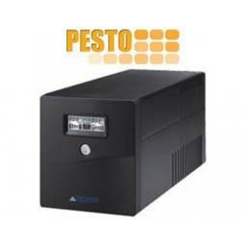 UPS line interactive 2000VA τροποποιημένου ημιτόνου LA-VST-2000 LCD BK Voltronic