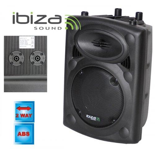 """Ηχείο παθητικό επαγγελματικό 10""""/25cm 8Ω 500W SLK10 Ibiza Sound"""