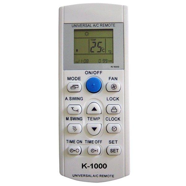 Τηλεχειριστήριο air conditioner universal K-1000