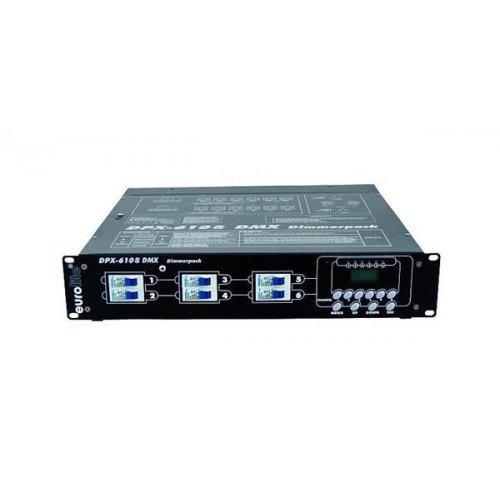 Dimmer φωτισμού DMX 6x10Α DPX-610s