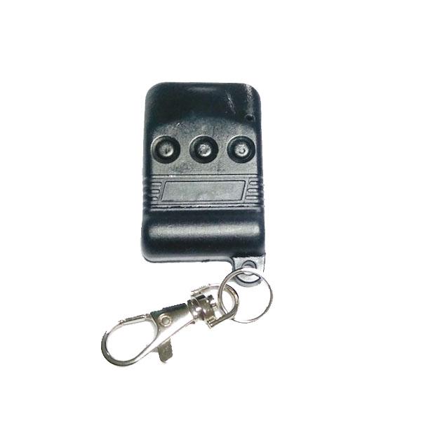 Τηλεχειριστήριο 3 εντολών γκαραζόπορτας 433,92 Mhz Black SM-50