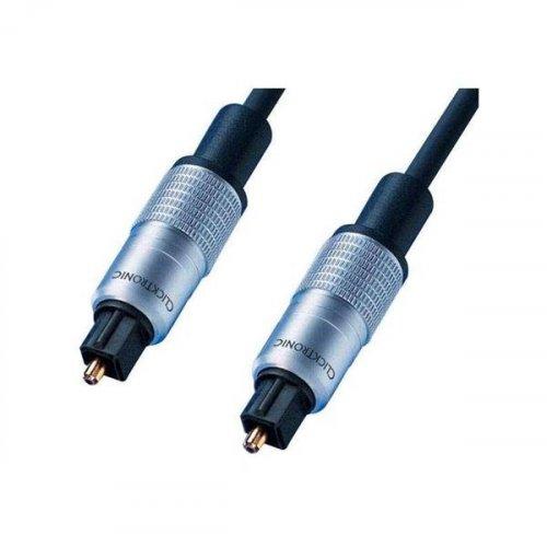 Καλώδιο οπτικής ίνας toslink -> toslink 10m μπλε HC302 Clicktronic