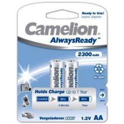 Μπαταρία επαναφορτιζόμενη 1.2V R06 AA 2300mAh Νi-Mh Always Ready BL2pcs Camelion