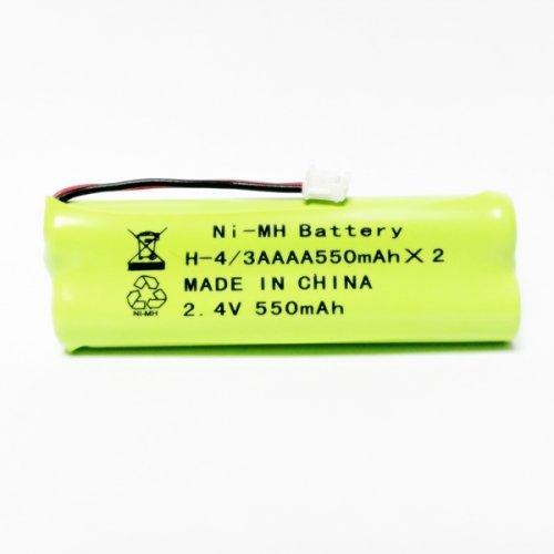 Μπαταρία pack 2 pcs x 4/3 AAAA 3.6V 550mAh Ni-Mh με universal plug Code S Fujitron