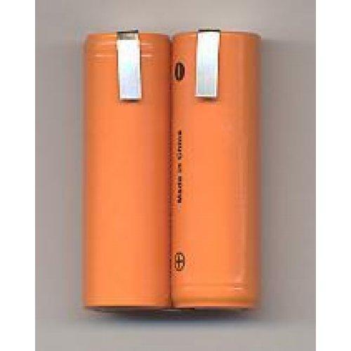 Μπαταρία pack 2 pcs x 1.2V 4/5 AA 2.4V 1200mAh Ni-cd με καλώδιο Code S Fujitron