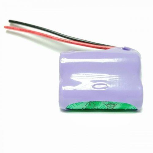 Μπαταρία pack 3 pcs x 2/3 AAA 2.4V 300mAh Ni-Mh με καλώδιο Code S Fujitron