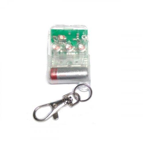 Τηλεχειριστήριο 3 εντολών γκαραζόπορτας 270-300Mhz red Clear SM-50