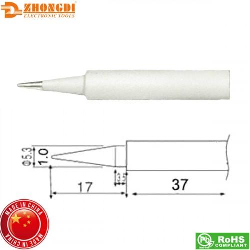 Μύτη κολλητηρίου 1.0mm N2-56 για κολλητήρι σταθμού ZD-23 Zhongdi