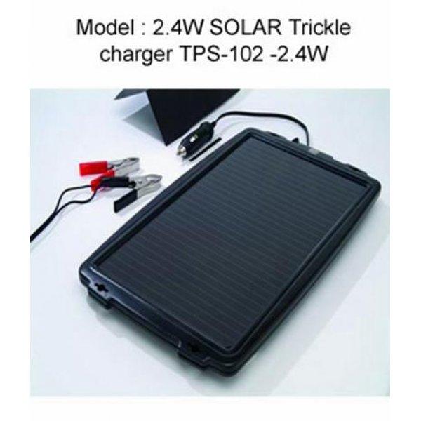 Πάνελ φωτοβολταϊκό με φορτιστή μπαταρίας  2,4Wp 200mA TPS-102