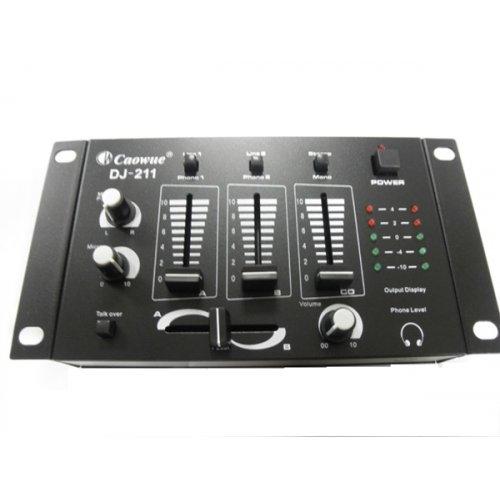 Μίκτης ήχου 2 καναλιών DJ-211