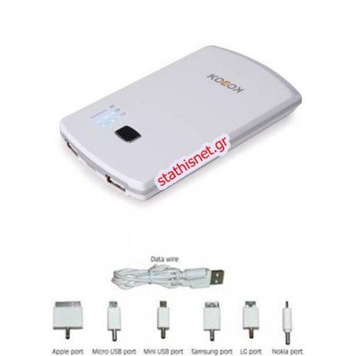 Power bank με dual USB 5600Mah KE-560 PKC