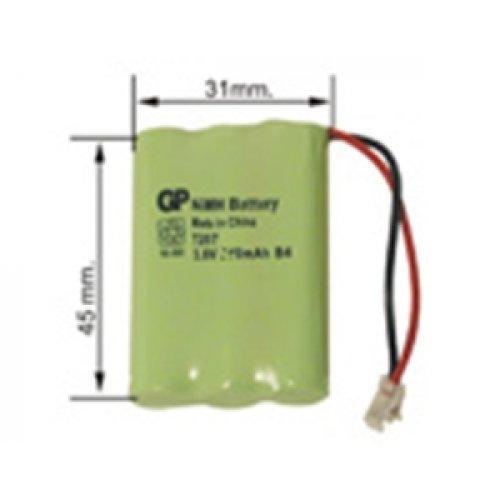 Μπαταρία 3 x AAA 3.6V 700mah + multi plug GPT357MU GP