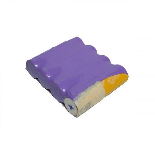 Μπαταρία pack 4 pcs x 1.2V AA 4.8V 700mAh Ni-Cd με λαμάκι Code S Fujitron