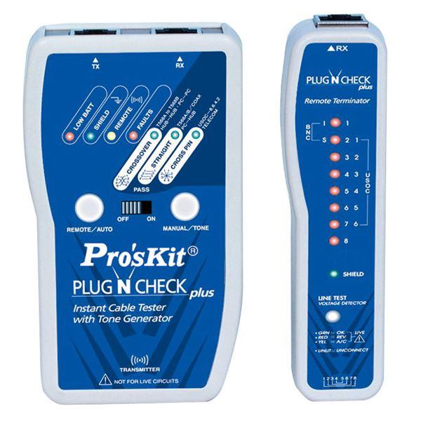Tester δομημένης καλωδίωσης MT-7055 PROSKIT