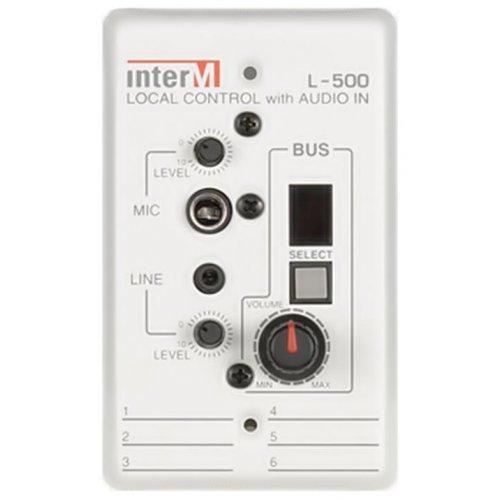 ΕΠΙΤΟΙΧΟ CONTROL L-500 INTER-M