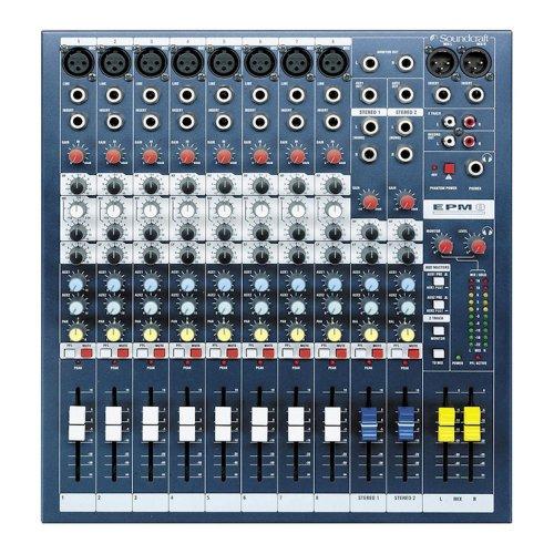 Μίκτης ήχου 8 mono + 2 stereo SPIRIT EPM8 Soundcraft