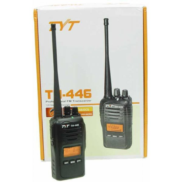 Πομποδέκτης Φορητός UHF PMR446 TH-446 TYT
