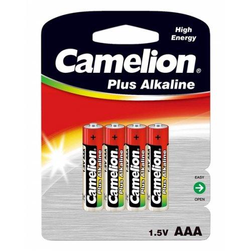 Μπαταρία alkaline Plus LR03 AAA BL4pcs Camelion