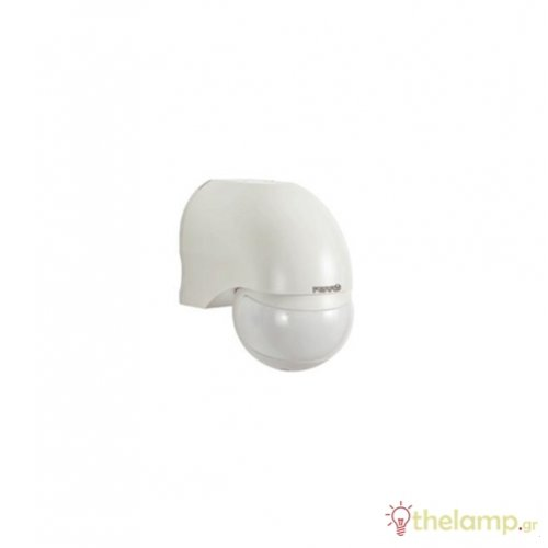 Ανιχνευτής κίνησης τοίχου λευκός 1000W 230V 180° SP010 IP44 Perry
