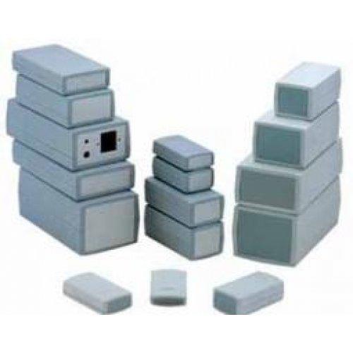 Κουτί πλαστικό IP54 190x100x60mm γκρι με αποσπώμενη πρόσοψη G454 Gainta