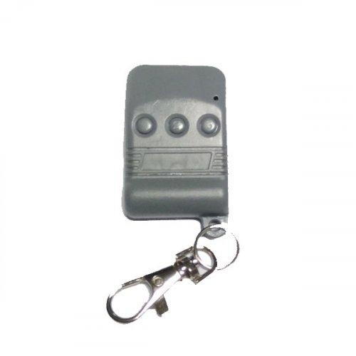 Τηλεχειριστήριο 3 εντολών γκαραζόπορτας 300-330Mhz Grey SM-50