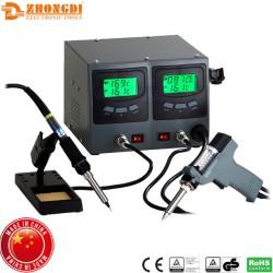 Σταθμός κόλλησης και αποκόλλησης κεραμικός 60W με οθόνη ZD-987 Zhongdi
