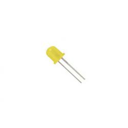 Led 10mm κίτρινο L-813ΥD Kingbright